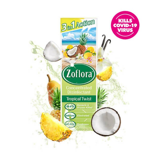 Zoflora Tropical Twist fragrant multipurpose concentrated disinfectant