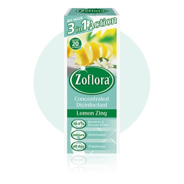 Zoflora Lemon Zing Concentrated Disinfectant