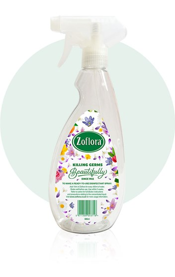 The Zoflora Official Spray Bottle