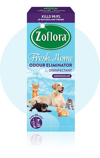 Zoflora Mountain Air multipurpose disinfectant packaging